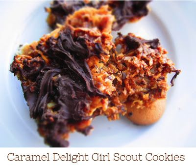 Caramel Delight Girl Scout Cookie Bar Recipe! Tastes EXACTLY like em!