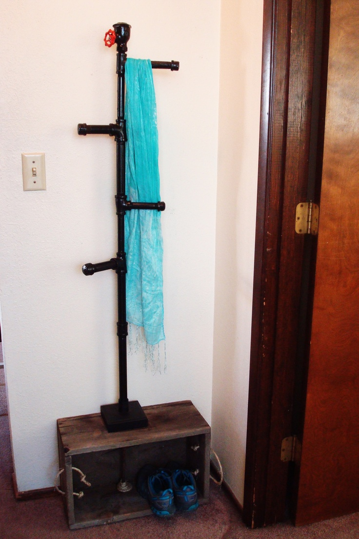 Unique Coat Rack On The Site Painted Furniture By