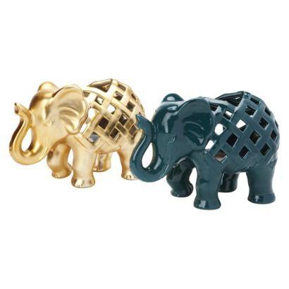 Nate Berkus™ Elephant Tealight Holder $9.99