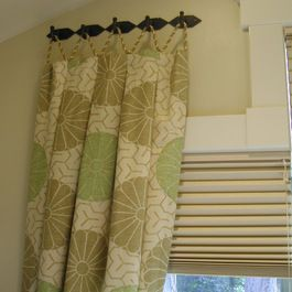 A Different Way To Hang Curtains Ideas For Dream Home