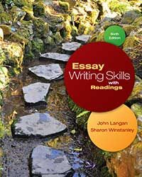 essay writing for canadian students with readings 6th edition