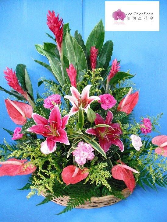 Flower arrangement party time pinterest for Flower arrangements for parties