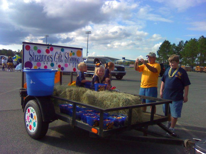 Ideas for parade float for electrician