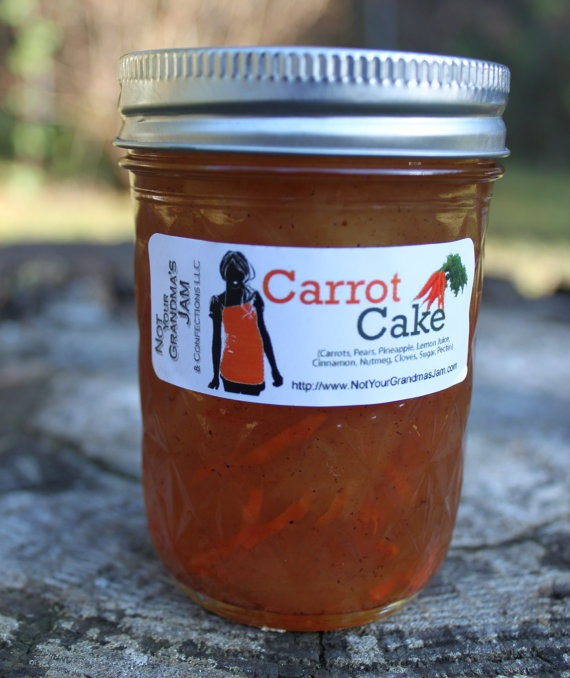 Carrot Cake Jam, tastes great | Food eeee | Pinterest