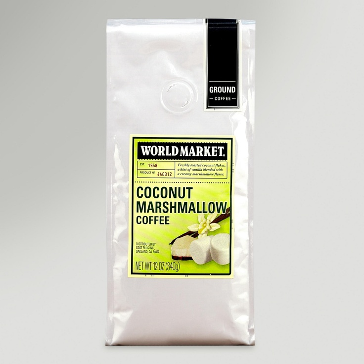 Coconut Marshmallow Coffee | World Market