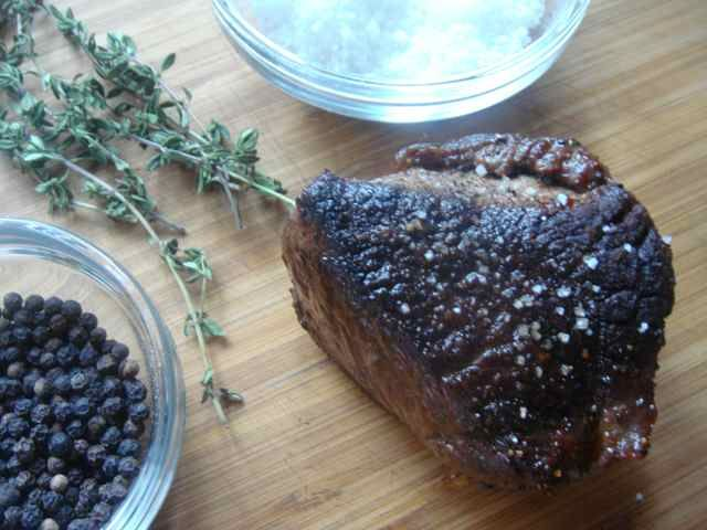 Pan-Seared Bison Steaks Recipe « Chef Marcus Samuelsson
