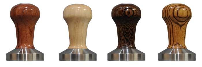 Barber 58mm Espresso Tamper comes in various wooden handles (rosewood ...