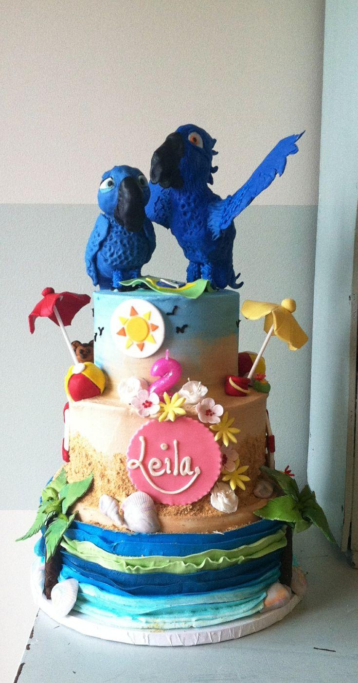 Rio cake #secondfloorbakery #kelliealvarado