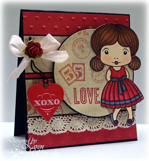 valentine cards scrapbook