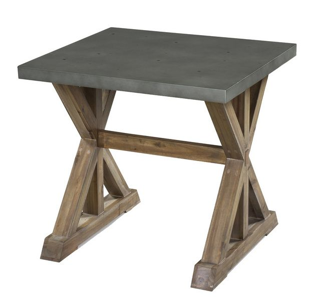 Zinc side table coffee and side and console for Coffee tables urban barn