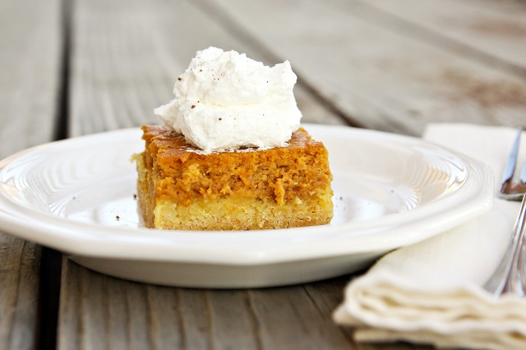 Pumpkin Gooey Butter Cake | Recipe