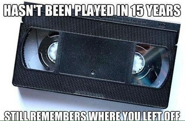 Remember VHS