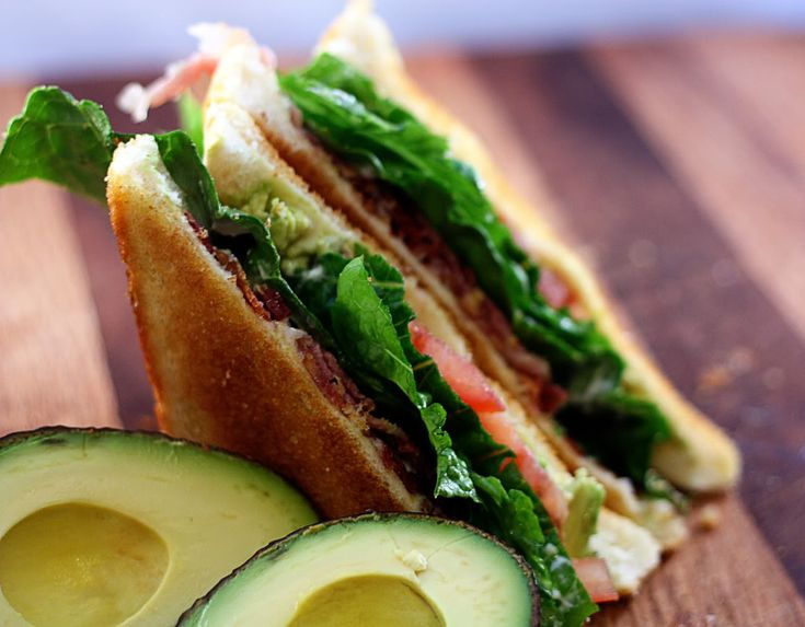 Avocado BLT | JenniferCooks.com | recipies and food | Pinterest