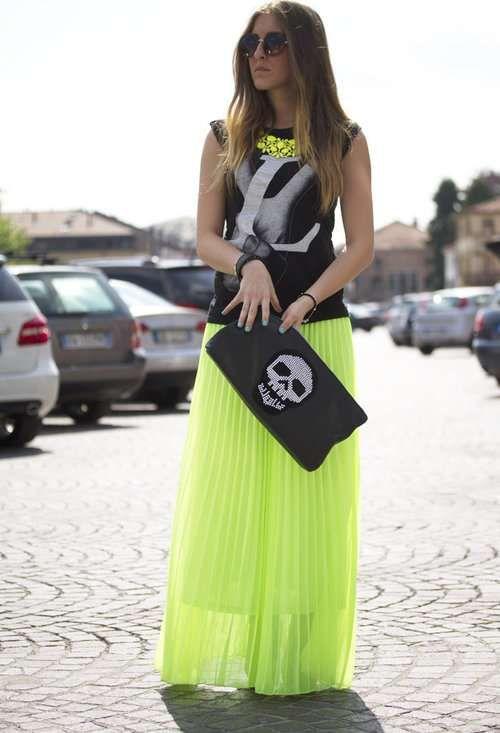 Faldas largas de moda primavera-verano 2013   http://modayaccesorios.info/faldas-largas-de-moda-primavera-verano-2013/