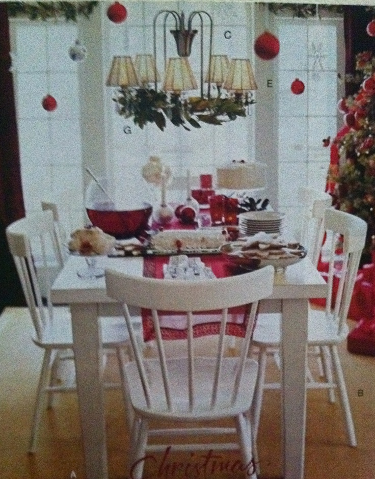 love this Christmas table