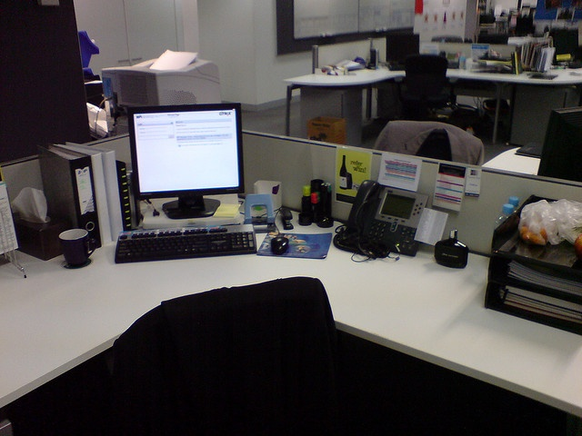 My workspace, when it's in a rare state of cleanliness! - Taken at 5 ...
