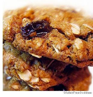 Oatmeal Raisin Cookies - gluten-free, dairy-free, vegan (recipe by the ...