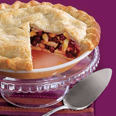 Thanksgiving recipes: Cranberry Pear Pie