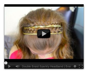 Hair Style Vedios : ... like this: headband hairstyles , braided headbands and hairstyles