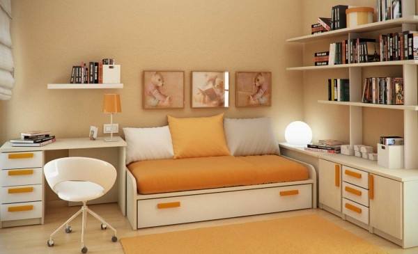 Modern Small Bedroom Ideas For Kids And Teen 2011