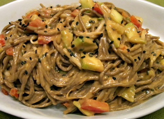 Cold Peanut-Sesame Noodles | Recipes To Try | Pinterest