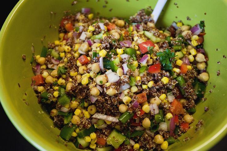 Veggie Overload Chickpea Salad Recipes — Dishmaps