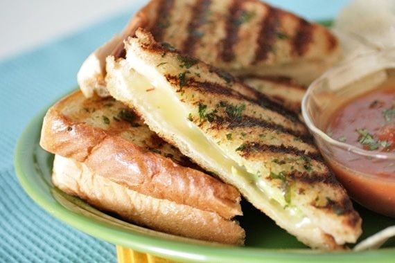 Mexican Grilled Cheese Sandwiches | the rice bowl | Pinterest