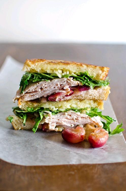 turkey sandwich ..healthy | Savoury Treats | Pinterest