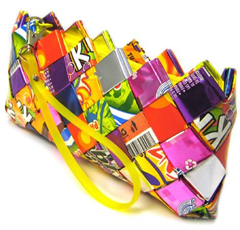 Recycled dyi wallet camp windward activities pinterest for Cool things to make with recycled materials