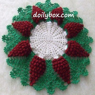 Crochet - Other - Grape Harvest Doily - FreePatterns.com