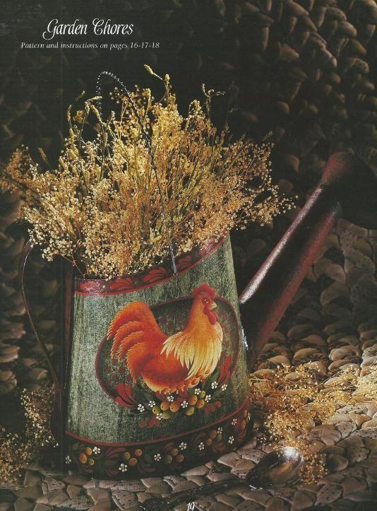 Decorative Tole Painting | My Backyard Garden Decorative Tole Painting Craft Book - Books ...