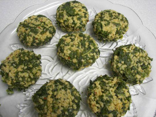 Kale millet croquettes   green in my belly (vegan)   Pinterest