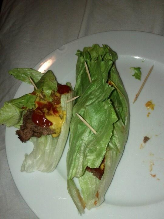 No carb recipes with hamburger patties