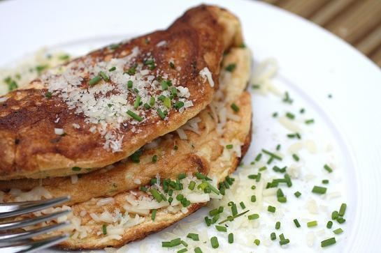 Two Cheese Omelet Soufflé,,,tasty with a beautifully rich eggy flavor ...