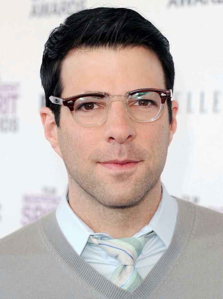 Zachary Quinto  with Spock eyebrowsZachary Quinto Spock Eyebrows