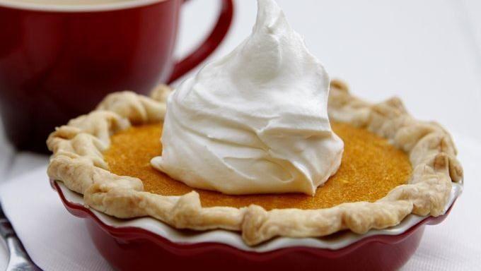 ... alimento shares a fall pie recipe for Mini Pumpkin Mascarpone Pies