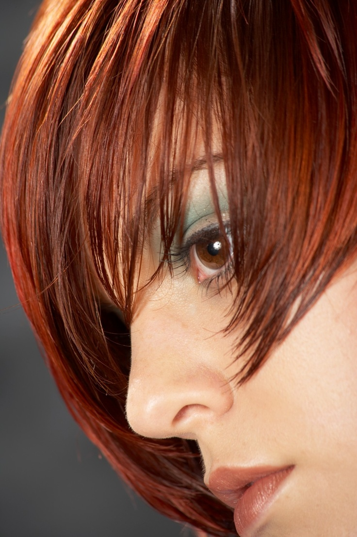 Hair Color Ideas Pinterest Red Hair color - red brown. via cathie ...