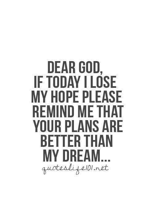 Inspirational Quotes About Gods Plan