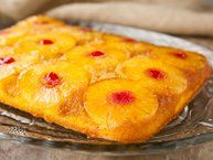 ... pineapple upside down cake and rum cake in one delicious dessert