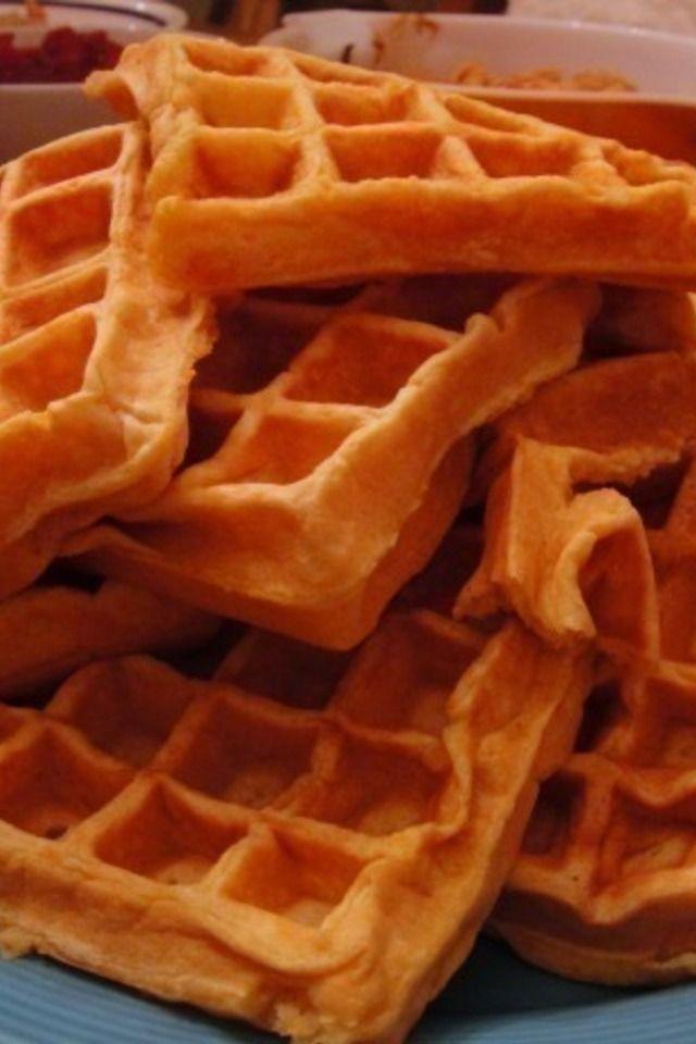 Sweet Potato Waffles | Food and Libations | Pinterest