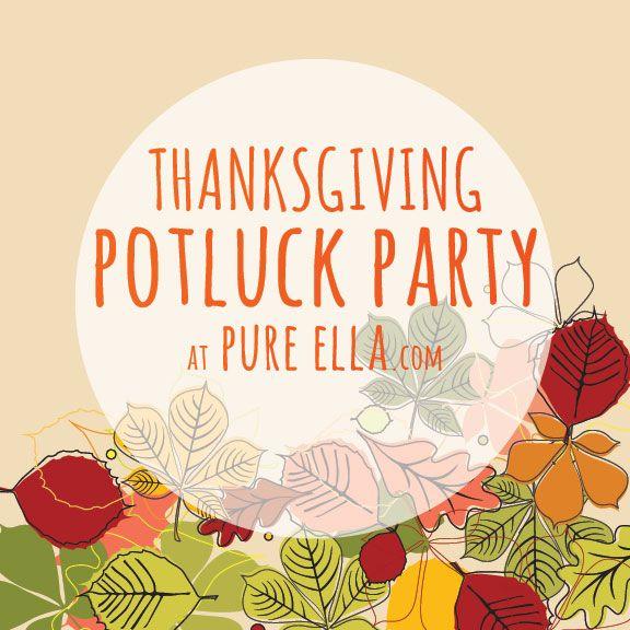 Potluck Party : Thanksgiving Menu | Halloween / Thanksgiving ...