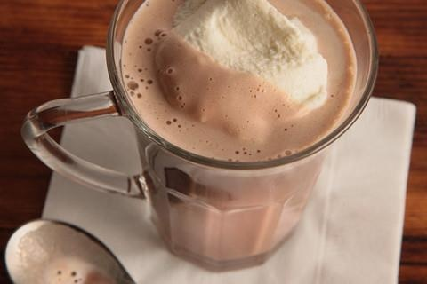 Tipsy Hazelnut Hot Chocolate, nightcap for a chilly evening.