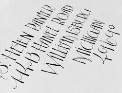 J. Panter Calligraphy | Styles