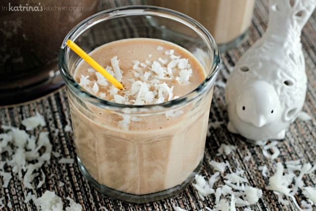 Rise and Shine Skinny Coffee Smoothie Recipe (vegan, dairy-free) - In ...
