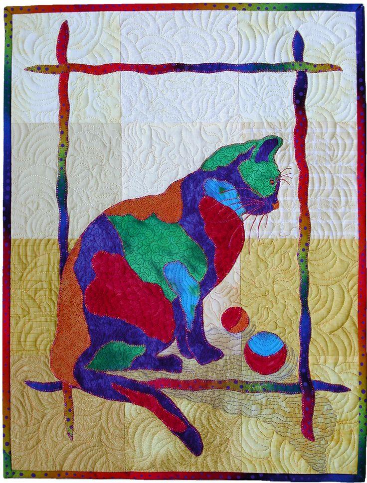 Cat Quilt Patterns Site Pinterest Com