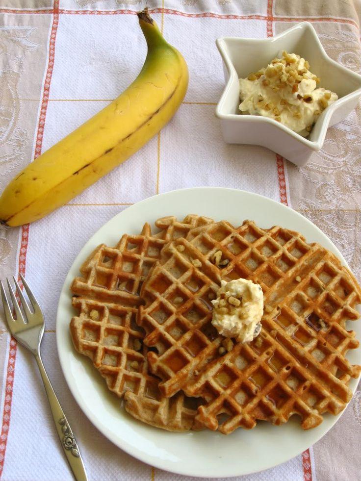 ... waffles banana nut waffles recept yummly banana nut waffles 1 banana