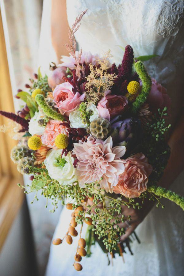 Colorful Fall California Wedding On A Budget