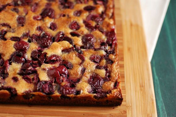 Browned Butter Cherry Bars | Bars and Cookies | Pinterest