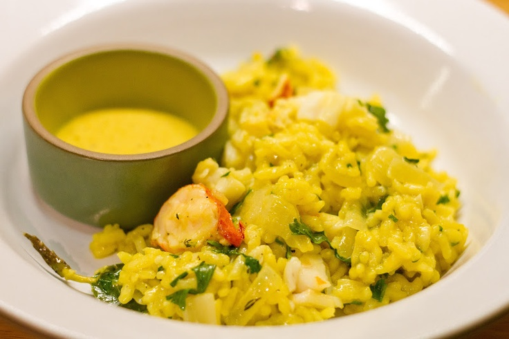 Lobster risotto. | Recipes I'd like to try | Pinterest