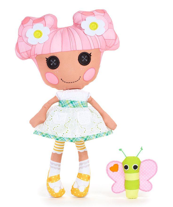 Lalaloopsy мягкие куклы - Blossom горшок